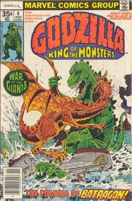 Godzilla King of the Monsters (Grapa) #4