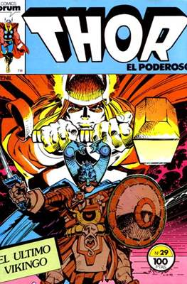 Thor, el Poderoso (1983-1987) (Grapa 36 pp) #29
