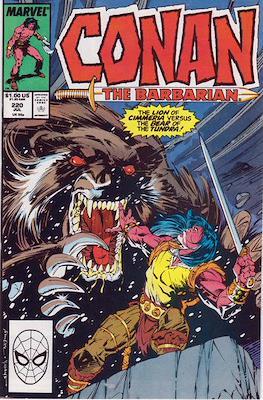 Conan The Barbarian (1970-1993) (Comic Book 32 pp) #220