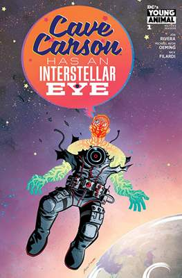 Cave Carson Has an Interstellar Eye (Comic Book) #1