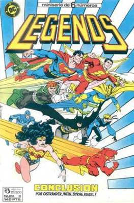 Legends (1987-1988) (Grapa 36 pp) #6