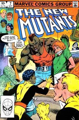 The New Mutants (Grapa) #7