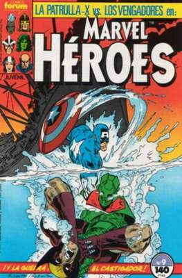 Marvel Héroes (1986-1993) (Grapa 32 pp) #9