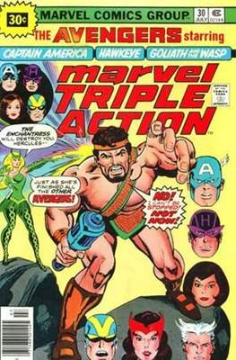 Marvel Triple Action Vol 1 (Comic-book.) #30