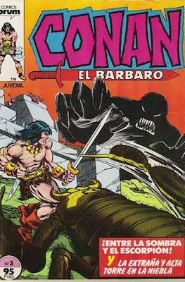 Conan el Bárbaro (1983-1994) (Grapa. 19x27. 36/32/24 páginas. Color.) #3