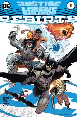 Justice League of America: Rebirth (2017) (Comic-book) #1.1