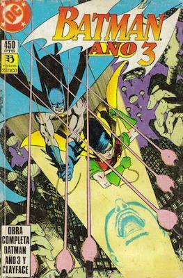Batman Año 3 / El enigma Clayface