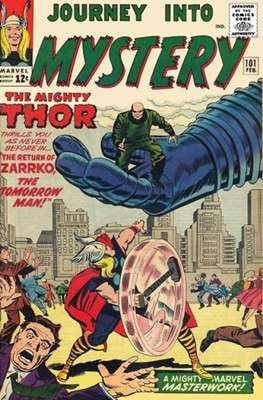 Journey into Mystery / Thor Vol 1 (Comic Book) #101