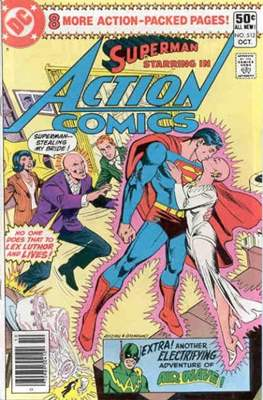 Action Comics Vol. 1 (1938-2011; 2016-) (Comic Book) #512