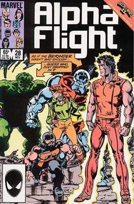 Alpha Flight Vol. 1 (1983-1994) (Comic Book) #28