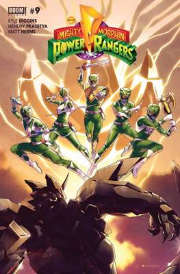Mighty Morphin Power Rangers #9