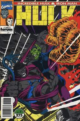 Hulk & Iron Man (1993) (Grapa 48 pp) #7