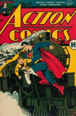 Action Comics Vol. 1 (1938-2011; 2016-) (Comic Book) #41