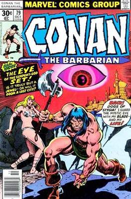 Conan The Barbarian (1970-1993) (Comic Book 32 pp) #79