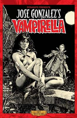Jose Gonzalez's Vampirella Art Edition