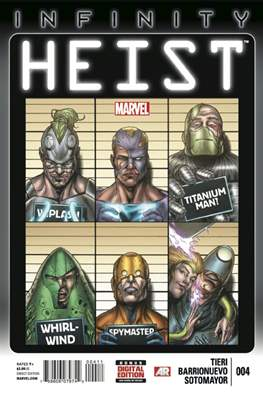 Infinity: Heist Vol 1 (Comic Book) #4