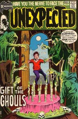 The Unexpected (Comic Book) #124