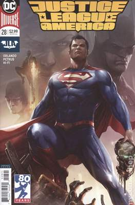 Justice League of America vol. 5 (2017-2018 Variant Covers) (Comic Book) #28
