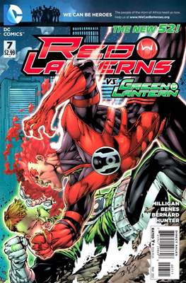 Red Lanterns (2011 - 2015) New 52 #7