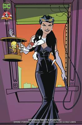 Catwoman Tweety & Sylvester Special (Variant Cover)
