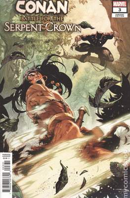Conan: Battle for the Serpent Crown (Variant Cover) #3.1