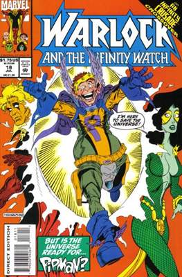 Warlock and the Infinity Watch (Comic-Book) #18