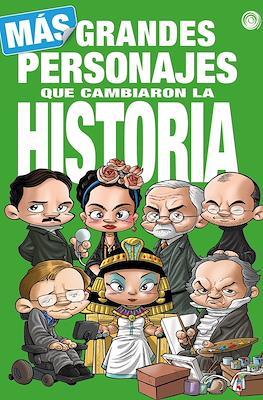 Más grandes personajes que cambiaron la historia (Cartoné 56 pp)