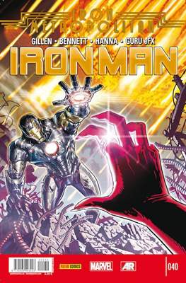 El Invencible Iron Man Vol. 2 (2011-) (Grapa - Rústica) #40