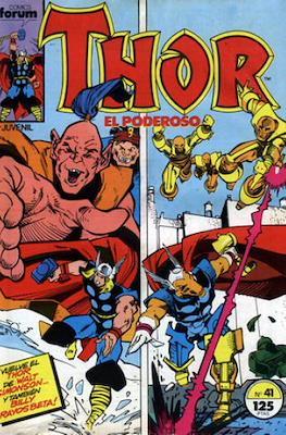 Thor, el Poderoso (1983-1987) #41