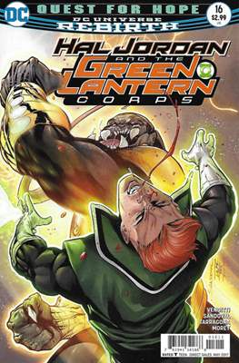 Hal Jordan and the Green Lantern Corps (2016-2018) #16