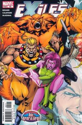 Exiles Vol 1 (Comic book) #60