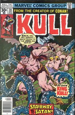 Kull the Conqueror / Kull the Destroyer (1971-1978) (comic-book) #20