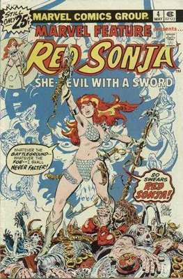 Marvel Feature presents Red Sonja (Comic Book) #4