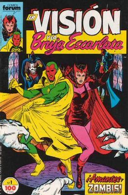 La Vision y la Bruja Escarlata (1988-1989)