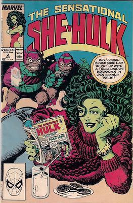 Sensational She-Hulk (1989-1994) (Grapa) #2