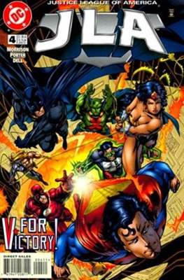 JLA Vol. 1 (1997-2006) (Comic-Book) #4