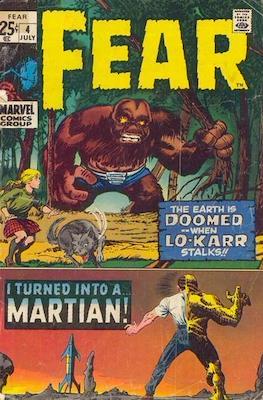 Adventure into Fear #4
