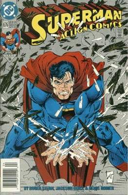 Action Comics Vol. 1 (1938-2011; 2016-) (Comic Book) #676