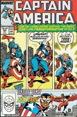 Captain America Vol. 1 (1968-1996) (Comic Book) #355
