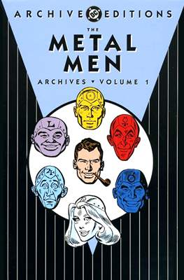DC Archive Editions. The Metal Men
