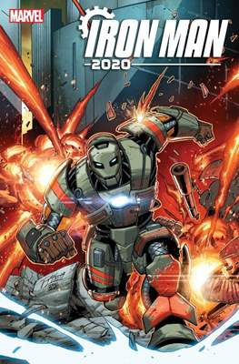 Iron Man 2020 (2020- Variant Cover) #2.1
