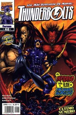 Thunderbolts Vol. 1 (1998-2001) (Grapa 24-40 pp) #40