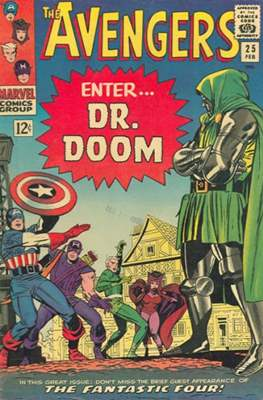 The Avengers Vol. 1 (1963-1996) (Grapa) #25
