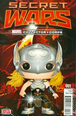 Secret Wars (2015) Variant Covers (Comic Book) #1.14