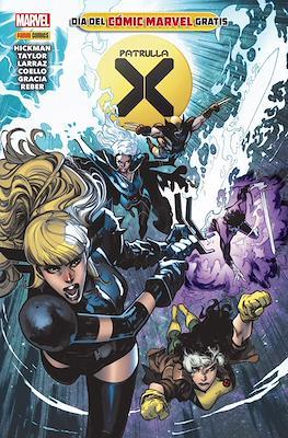 Patrulla-X. Día del Cómic Marvel Gratis (2020) (Grapa) #