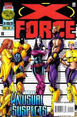 X-Force Vol. 1 (1991-2002) (Comic Book) #54