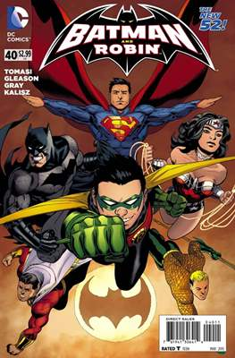 Batman and Robin Vol. 2 (2011-2015) #40