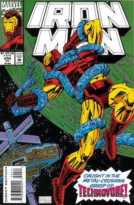 Iron Man Vol. 1 (1968-1996) (Comic book) #294