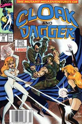 Cloak and Dagger Vol. 3 (1988-1991) (Comic-book.) #10