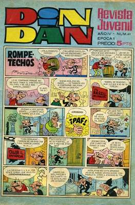 Din Dan 2ª época (1968-1975) (Grapa) #89